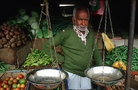 Sri Lanka veggie vendor