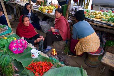 Kohima market b