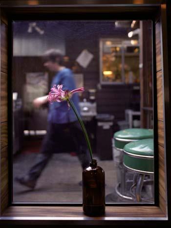 restaurant flower