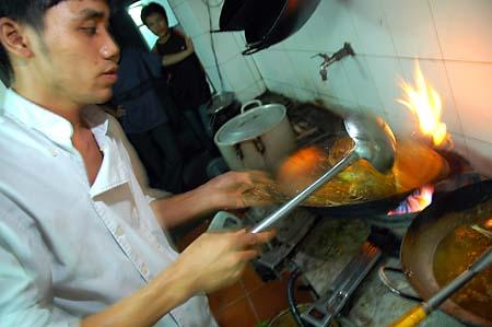 Cooking Crab