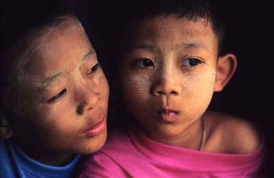 Burmese boys